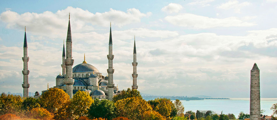 The Sultan Ahmed Mosque or Blue Mosque