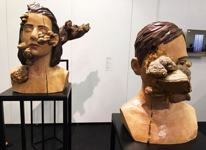 Artworks, contemporary Istanbul