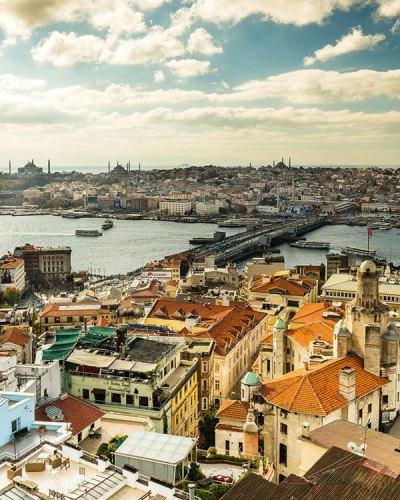Panoramic View, Istanbul
