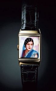 Jaeger-Lecoultre 1936 – Reverso with an enamelled portrait of an Indian beauty
