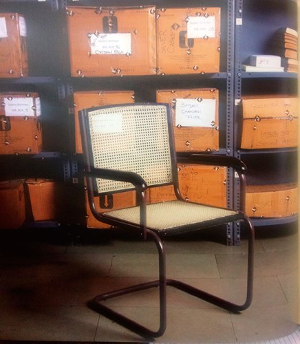 The Ch-4 chair is India's first modernist workspace chair with steel tubing