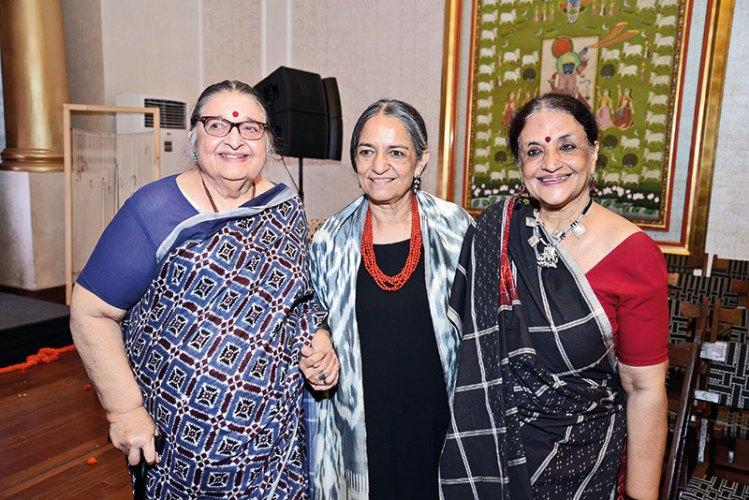 Jasleen Dhamija, Lekha Bhagat, Anjali Capila