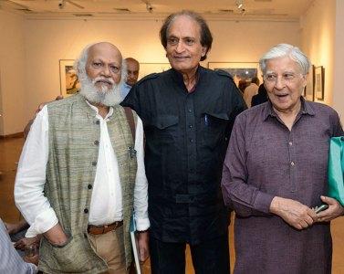 Jatin Das, Raghu Rai, Krishen Khanna
