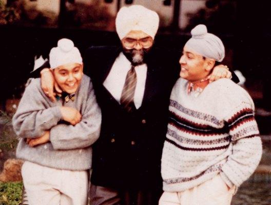 Ajit, Jiggs and Zorawar Kalra: family of foodies