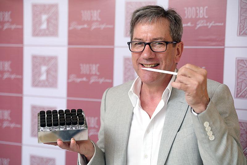 John Stephen, British master perfumer, Cotswold Perfumery