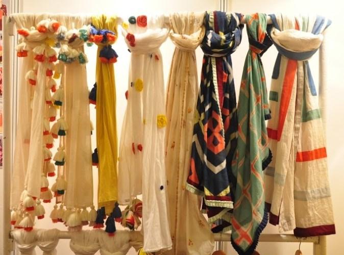 Scarves from Ka Sha by Karishma Shahani