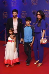 Kabir Khan, Mini Mathur and kids