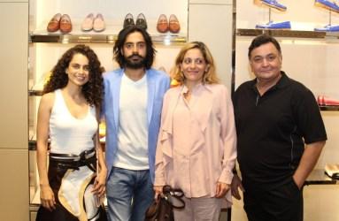 Kangana Ranaut, Shaunak Bali, Caterina Guarnieri, Rishi Kapoor