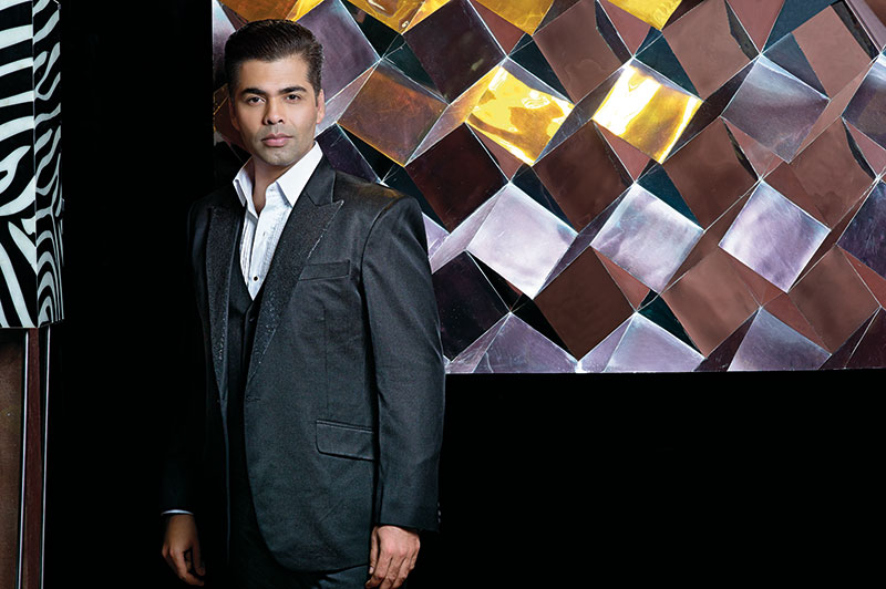 Karan Johar, film-maker, director, anchor, designer