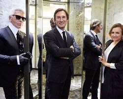 Karl Lagerfeld, Pietro Beccari, Venturini Fendi