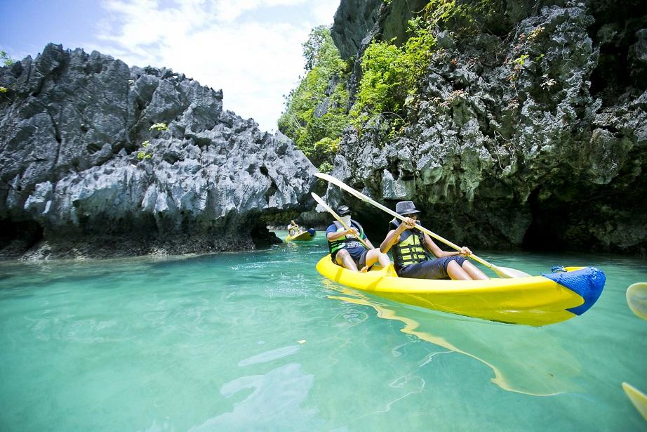 water sports, Philippines, adventure, kayaking,