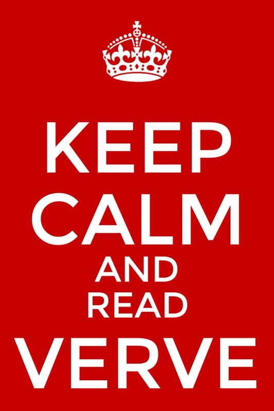 Verve Meme: Keep Calm and Read Verve