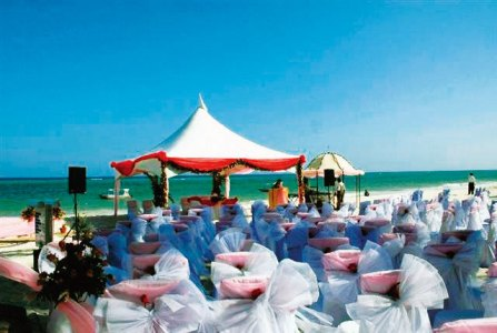 Picture perfect beachside wedding
