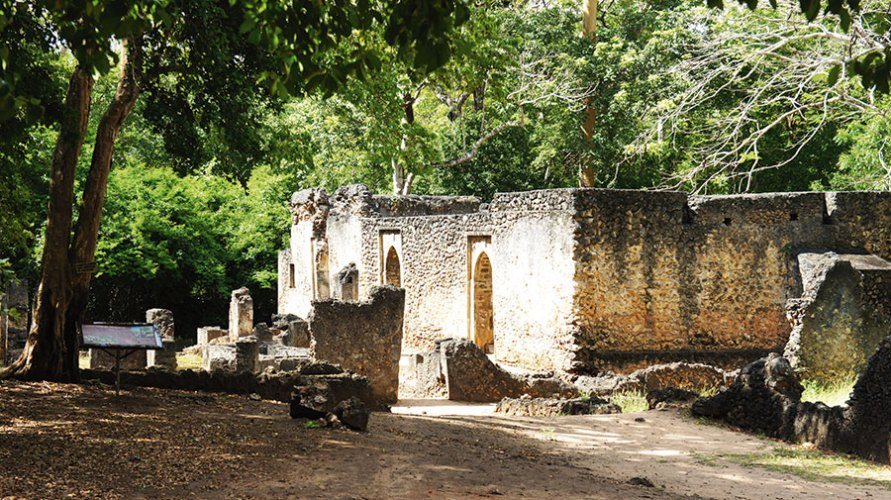 The ruins of Gedi