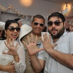 Kiran Amlani, AD Singh, Riyaaz Amlani at Olive's 15th Anniversary Celebrations in Mumbai
