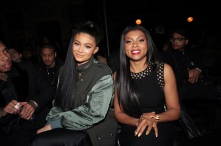 Kylie Jenner, Taraji P. Henson at Alexander Wang