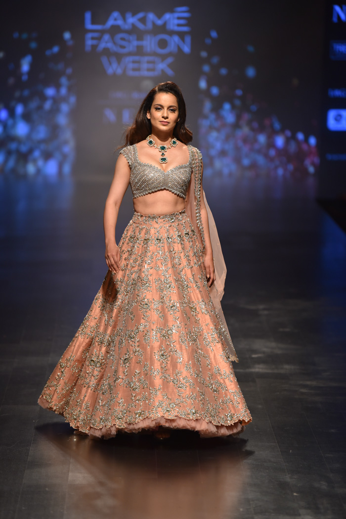 An All Inclusive Runway At Day 4 Of Lakme Fashion Week Verve Magazine