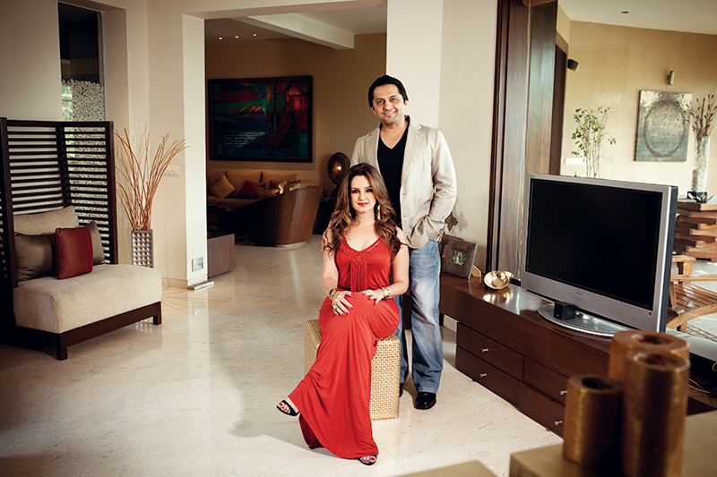 Laila and Farhan Furniturewalla