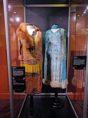Fashion Exhibits at the Mob Museum