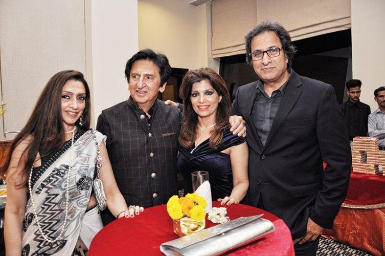 Leena Singh, Kailash Surendranath, Bina and Talat Aziz