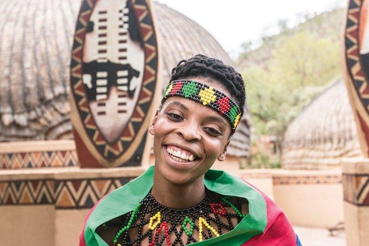 Dancer Ziyanda Mtshali
