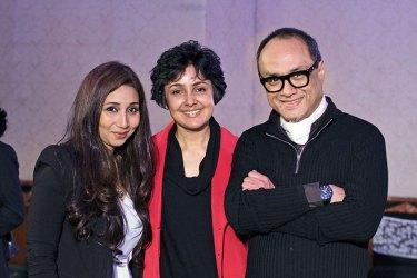 Verve's Nisha Jhangiani, Payal Jain and David Abraham