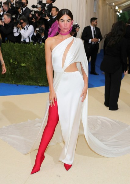 Lily Aldridge in Ralph Lauren