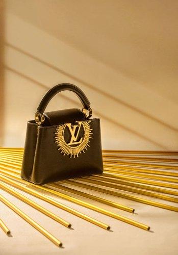 Capucines Mini Vendôme from Louis Vuitton.