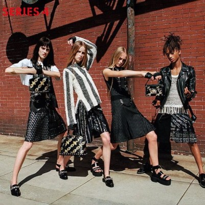 Louis Vuitton's SS16 ad campaign featuring Jaden Smith