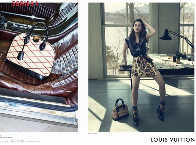 Louis Vuitton aw campaigns 2014