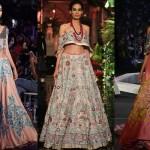 Manish Malhotra gowns, bridal wear, designer bridal notebook, Verve Wedding Diares, ICW 2016, LFW Winter Festive 2016