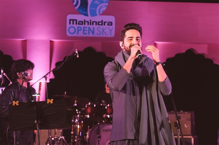 Ayushmann Khurrana with his band, Ayushmann Bhav