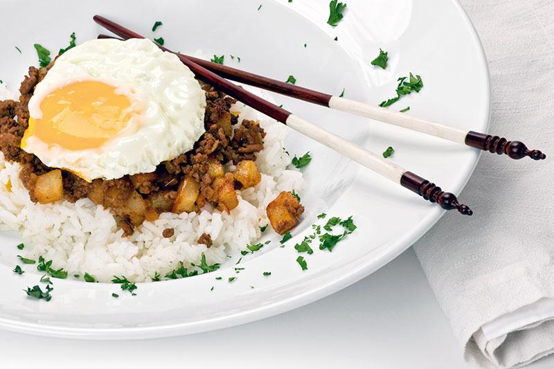 Macanese fried rice, Macau