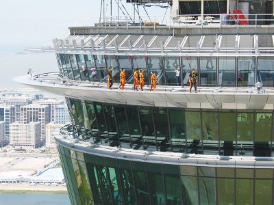 Skywalk thrills