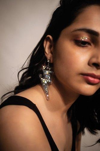 Thunder earrings, Madhu's own