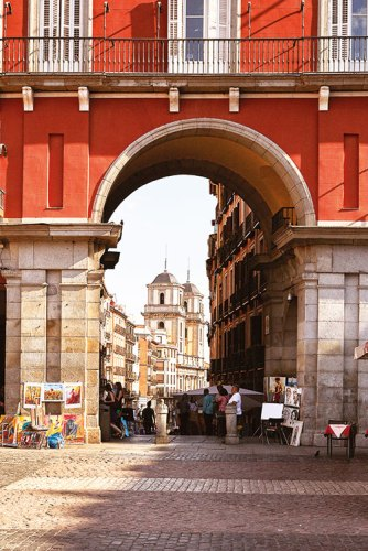 Plaza Mayor has its own old-world charm