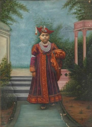 Maharaja Jivajirao Scindia of Gwalior