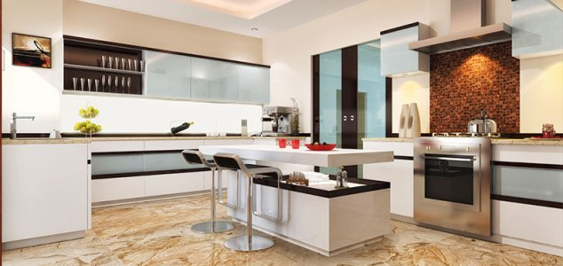 A well-appointed kitchen