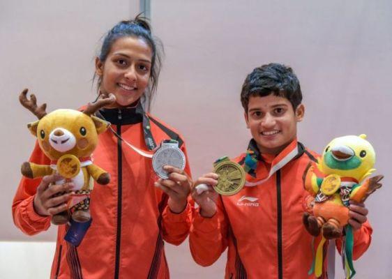 Malaprabha Jadhav and Pincky Balhara