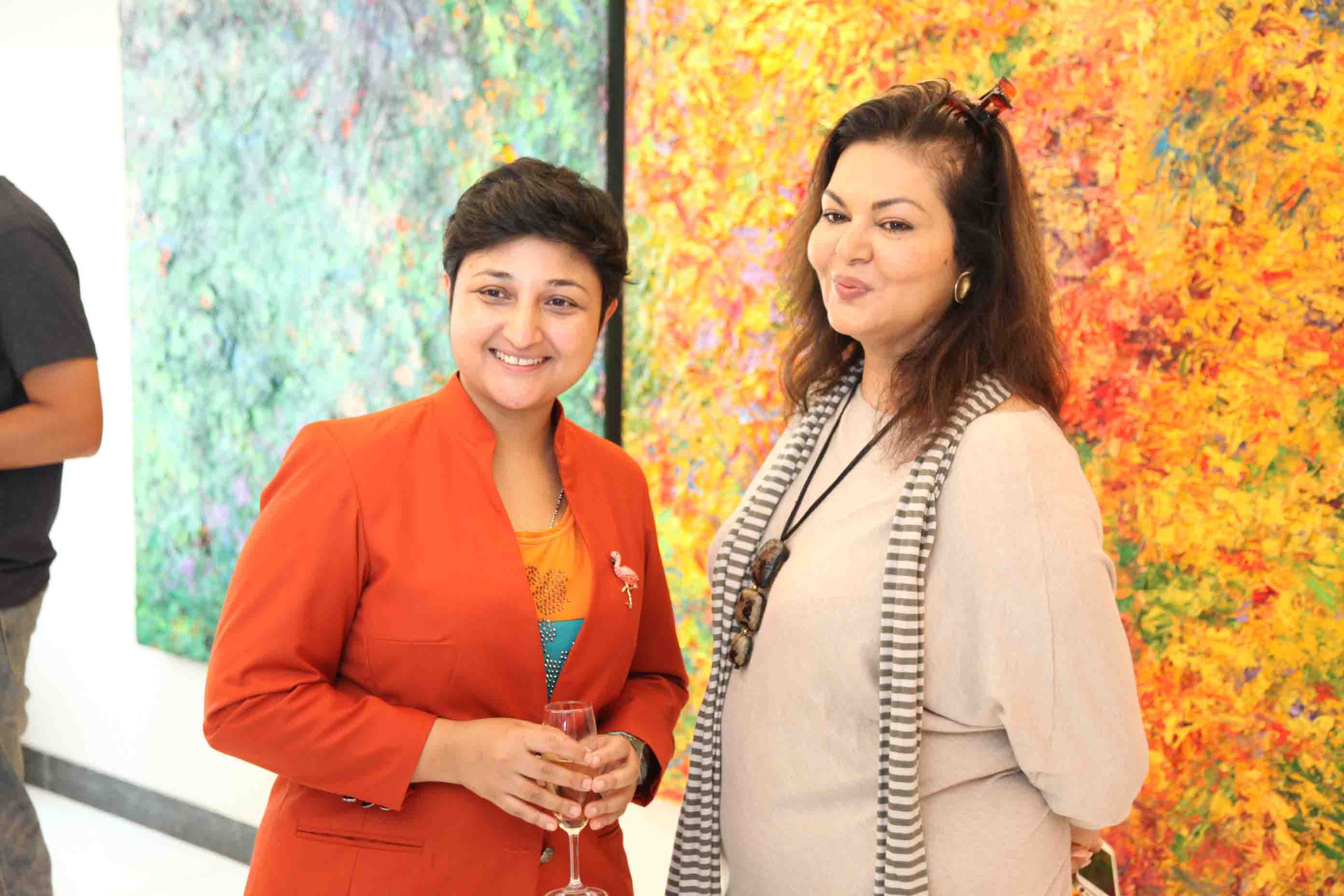 Malavika Sangghvi, Sharmistha Ray, Bellevue Brunches, Arty Hearty
