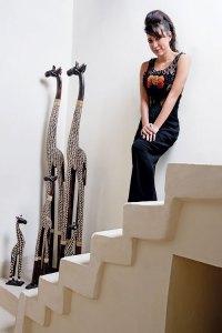 Malini Ramani in her interior store, Dreamscape