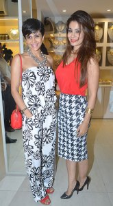 Mandira Bedi and Shaheen Abbas