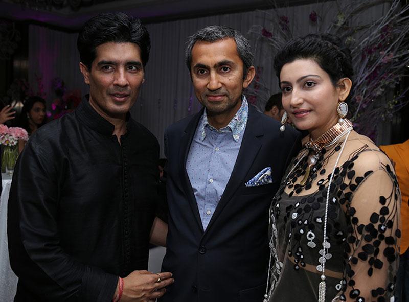 Manish Malhotra, Sanjay and Shalini Passi