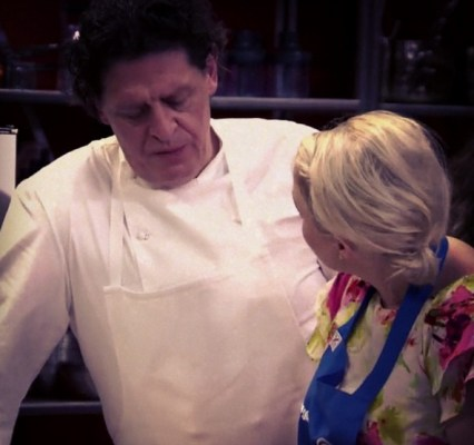 With Chef Marco Pierre White
