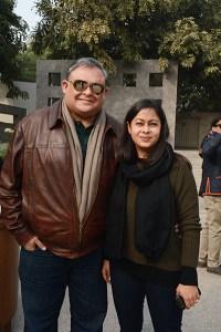 Marut and Anusuiya Sikka