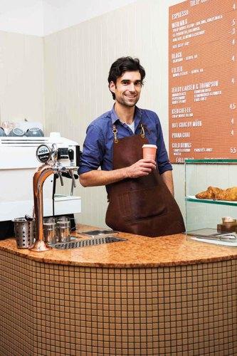 Sam Hall-Haydon at Tulip Coffee