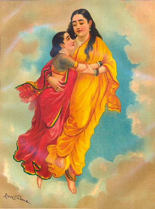 Shakuntala - Raja Ravi Varma - WikiArt.org |Raja Ravi Varma Shakuntala