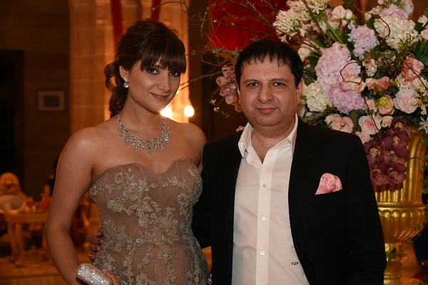 Michelle and Yohann Poonawalla
