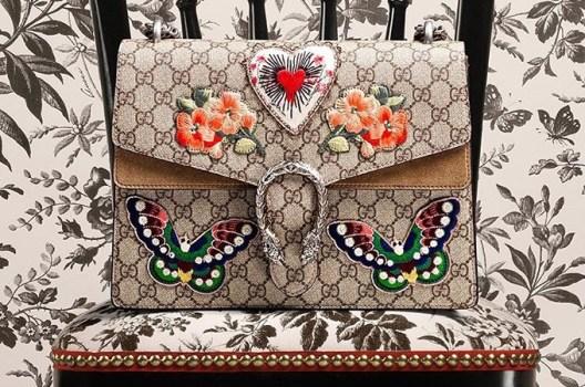 Milan edition of the Dionysus bag