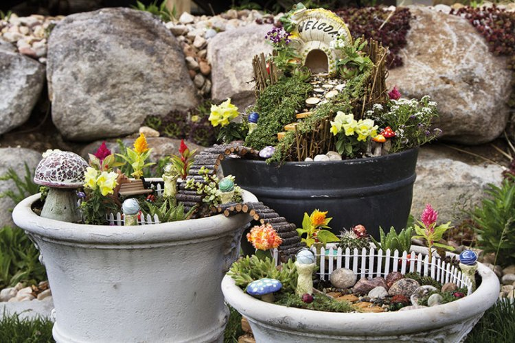 Fairy gardens can be as dreamy as you imagine them to be